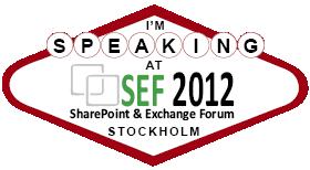 SEF2012