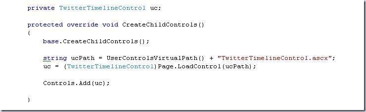 CreateChildControls function