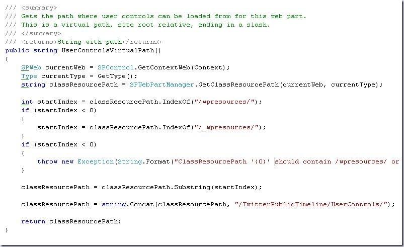 UserControlVirtualPath function